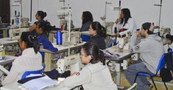 Prefeitura de Piraju inicia novo curso de costura industrial