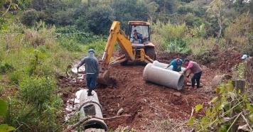 Obra de escoamento de água pluvial soluciona problema de décadas.