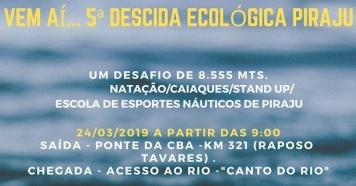Descida Ecológica Piraju dia 24/03