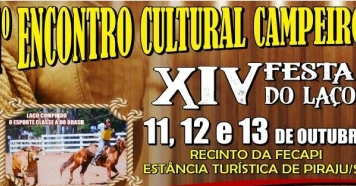 Primeiro Encontro Cultural Campeiro e Festa do Laço em Piraju