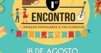 Encontro de Danças Populares é neste sábado, dia 18/08