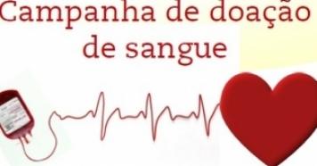 Campanha de Doação de Sangue dia 16/03