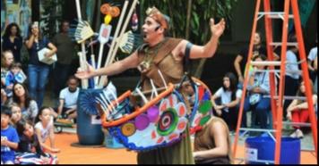 O premiado espetáculo Água Doce, se apresenta em Piraju