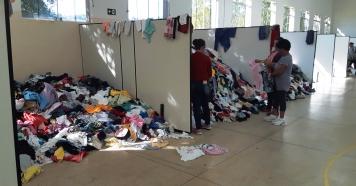 Fundo Social entrega dia 17/06 às roupas da Campanha do Agasalho