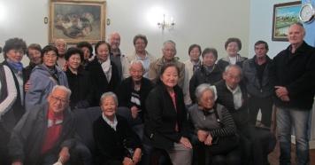 Grupo de idosos japoneses visita Piraju