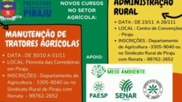 Cursos para o Setor Agrícola