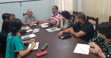"""Diretores participam de reunião Projeto """"Ilumina Piraju"""""""
