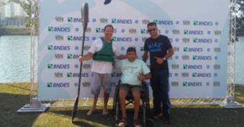 Piraju é Bronze na Copa Brasil de Paracanoagem