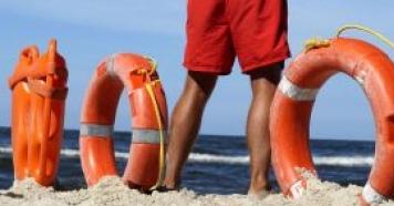 Palestra sobre salvamento aquático