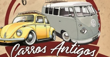 Encontro de Carros Antigos em Piraju dia 19/05